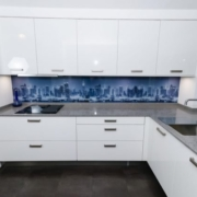 Wellmann Calla German High Gloss Concrete Ex Display